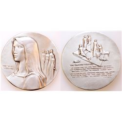 Society of Medalists: Wise Virgins