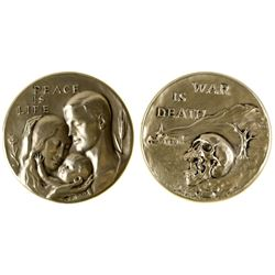Society of Medalists: Peace is life