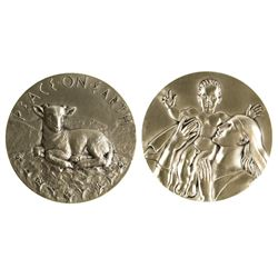 Society of Medalists: Madonna and Child