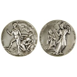 Society of Medalists: Adam and Eve