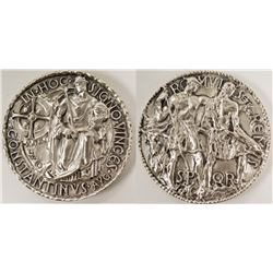 Society of Medalists: Romulus and Remus