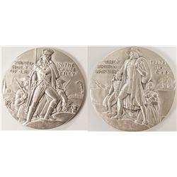 Society of Medalists: Pilgrims landing