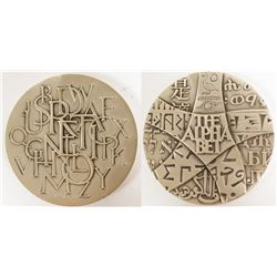 Society of Medalists: Alphabets of the World