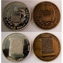 Token and Medal Society: Bronze and Silver 1961 Medallions