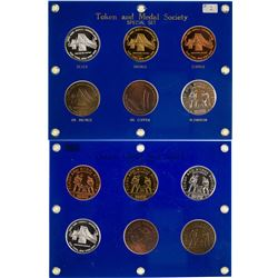 Token and Medal Society Special Six Medal 2002 Set