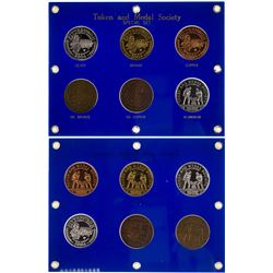 Token and Medal Society Special Six Medal 2004 Set