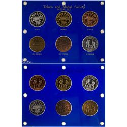 Token and Medal Society Special Six Medal 2005 Set