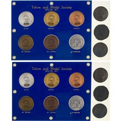 Token and Medal Society Special Six Medal 2006 Set