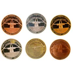 Token and Medal Society Special Six Medal Set (2007 Milwaukee)