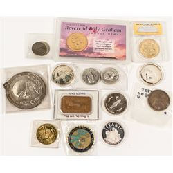 Eclectic Group of Silver & Bronze Medals