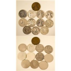 Old-timers Assay Commission Medals