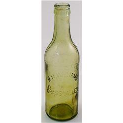 R. H. Williams, Grass Valley Soda Bottle