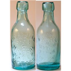 Los Angeles Soda and Mineral Water Factory Bottle