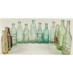 13 Sacramento Soda Bottles