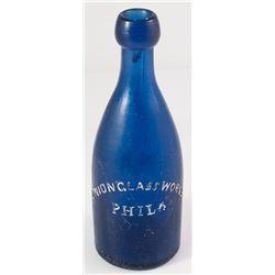 M & R Soda bottle