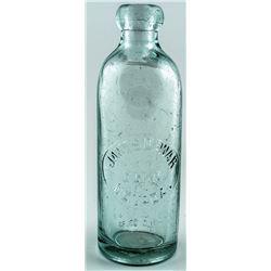 James Dewar Hutchinson Soda Bottle