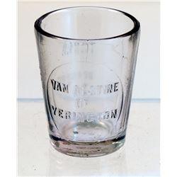 Van Alstine Drug Shot Glass