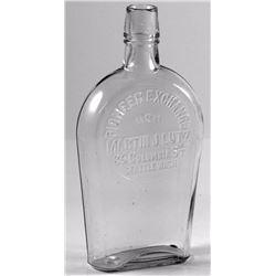 Pioneer Exchange Whiskey Flask