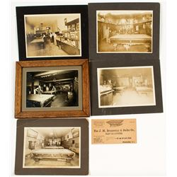 Pool Hall Lot: Photographs and an Advertising Card