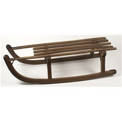 Antique Wood sled From Holland