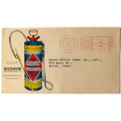 Early Fire Extinguisher Postal Cover
