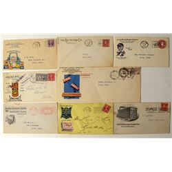 Food Company Advertising Postal Covers