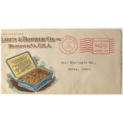 Tobacco Advertising Postal Cover