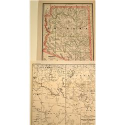 Two Arizona Indian Territories Maps