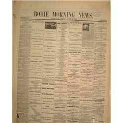 Bodie Morning News and Bodie Standard News