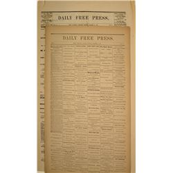 Two Bodie Daily Free Press