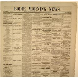 Two Bodie Newspapers: 1879