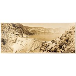 Hetch Hetchy Dam Completion Photograph