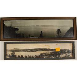 Rare Lake Tahoe Panorama plus one other