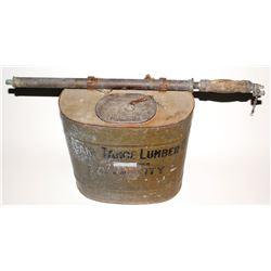 "Lake Tahoe Lumber Company ""Indian Fire Pump"""