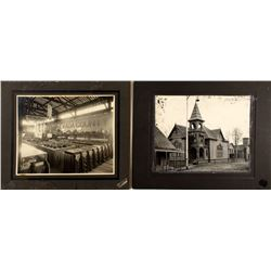 Two Large Grass Valley Mounted Photographs