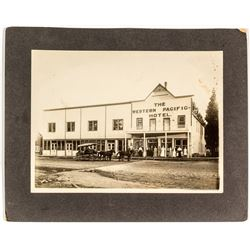 Photograph of The Western Pacific Hotel Portola CA