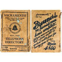 Sacramento Telephone Directory
