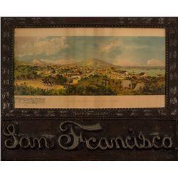 San Francisco in 1849 Reprint