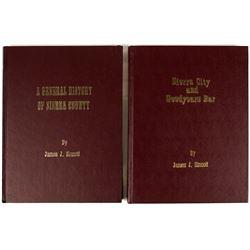 Two Sierra County Volumes by James J. Sinnott