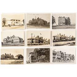 Real Photo Postcards of Susanville Schools