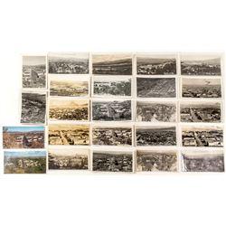 Susanville Birds-Eye View Postcards (most RPPC)