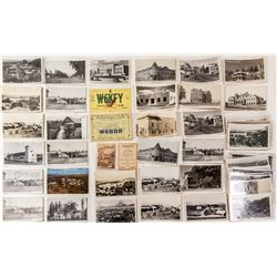 Susanville Postcard Collection incl. Real Photo