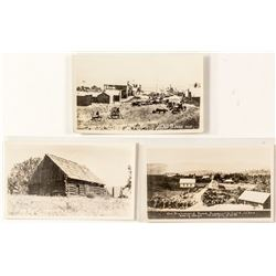 Three Susanville Real Photo Postcards (Early View Repros)