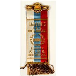 Slavonic I. B. S. Angels Camp Ribbon