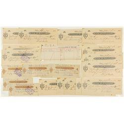 Bank of Williams Checks & Ledger Sheet