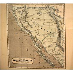 1845 Map of California