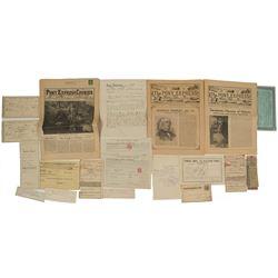 California Ephemera Collection (Mining, Tax, Railroad)