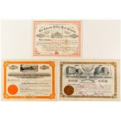Colorado Springs Area Stock Certificates