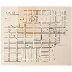 Downtown Cripple Creek Map