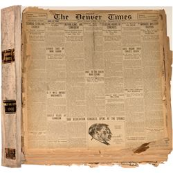 Denver Times Bound Volume (1902)